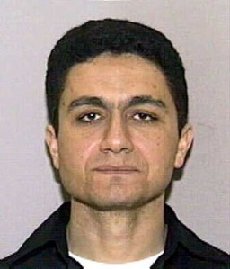 FILE--Mohamed Atta is shown in this photo released Wednesday, Sept. 12, 2001, in a State of Florida Division of Motor Vehicles photograph. Atta is one of two men who came to Florida for flight training school a year ago who emerged as suspects Wednesday in the FBI investigation into the terror attacks in New York and Washington. (AP Photo/WTJV-TV via Miami Herald)