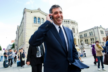 Greek Foreign Minister Stavros Lambrinidis
