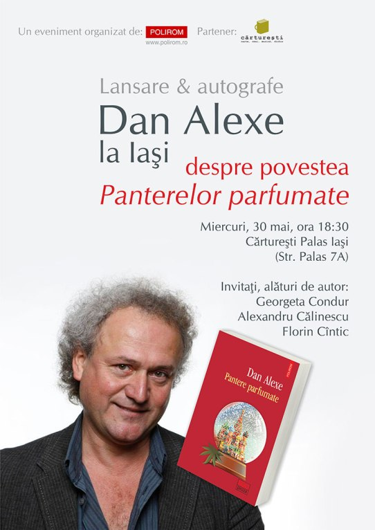 Afis_Dan_Alexe_Pantere_parfumate_Iasi