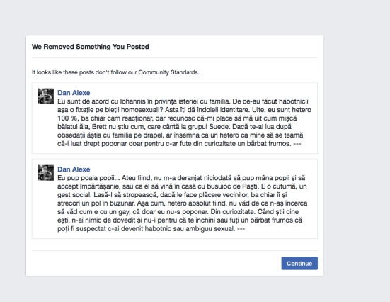 remove FB
